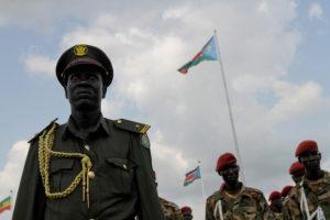 Soldados de Sudán del Sur el día de la Independencia en 2011. ©European Union.