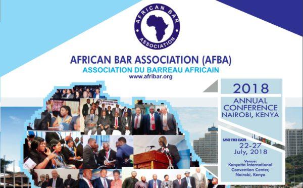 Cartel de la Conferencia Anual de la AFBA de 2018. Foto: AFBA.