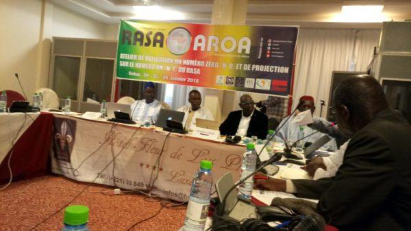 La secretaría permanente del Informe alternativo sobre África (RASA) se ha reunido para aprobar la edición del primer número | Ouestafnews