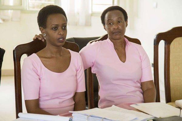 Diane y Adeline Rwigara. Foto: The Rwandan.