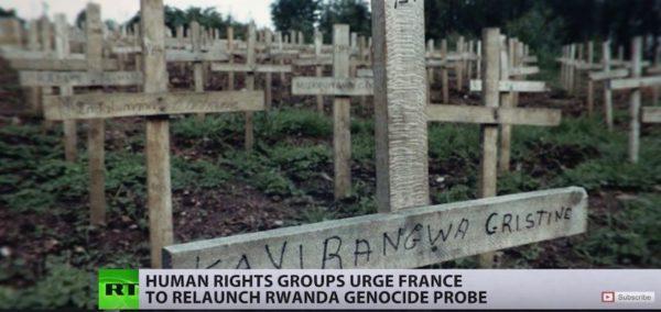 Captura de pantalla de una información de RT sobre Ruanda. Foto: Black Agenda Report.