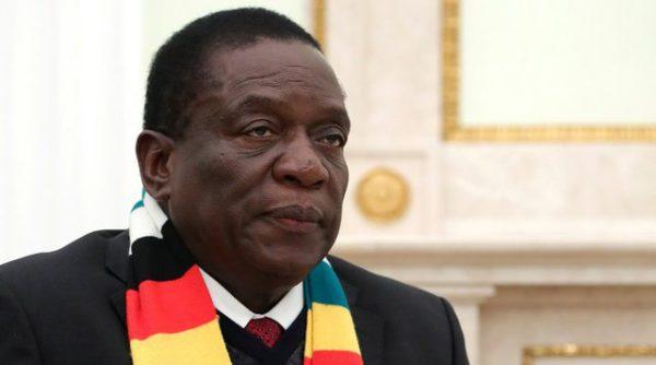 Emmerson Mnangagwa, actual presidente de la República de Zimbabue. (CC - kremlin).