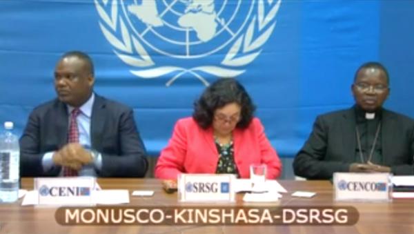 El Consejo de Seguridad de la ONU escucha el testimonio de CorneilleNangaa, presidente de la Comisión Electoral Nacional (CENI), y del arzobispo Utembi. Foto: sfbayview.com.