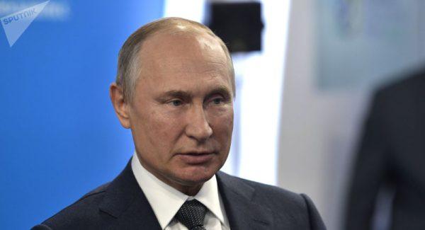 Vladímir Vladímirovich Putin, presidente de la Federación Rusa. Foto: Sputnik . Alexeï Nikolski.