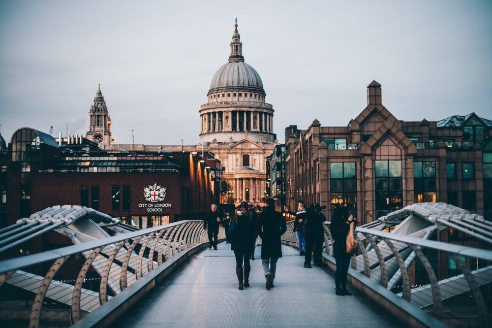 Paisaje urbano de Londres. Foto: Free-Photos (Pixabay).